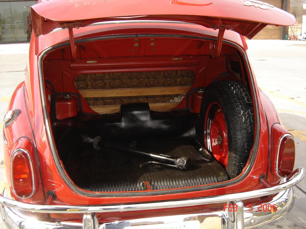 1965 Volvo PV544 Trunk
